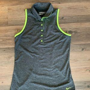 Nike Golf Dri-Fit Gray Tank Top